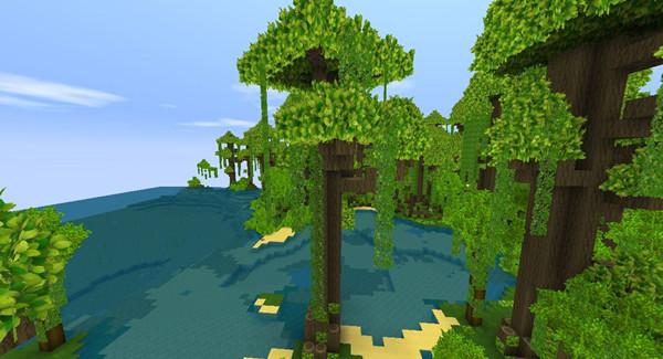 2021迷你世界雨林地形码大全 最新雨林地形码汇总[多图]图片3