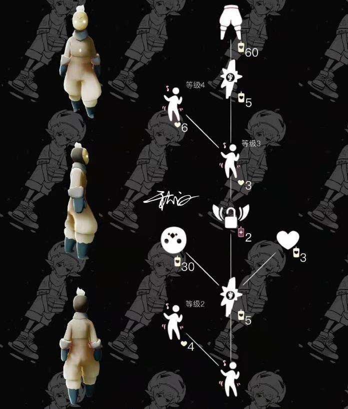 光遇白棉裤兑换图 2月11日白棉裤先祖复刻兑换表[多图]图片1