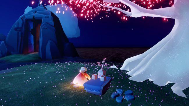 光遇樱花树烛火掉落时间是多久?樱花树烛火掉落时间详情一览[多图]图片1