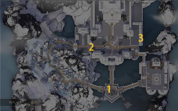 秦时明月世界全地图谭松松位置坐标汇总